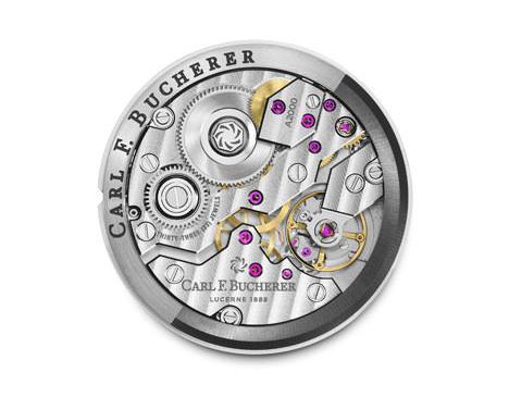 寶齊萊的A1000機芯具備環形自動盤,而這也是少數品牌以環形自動盤機芯當作基礎機芯。