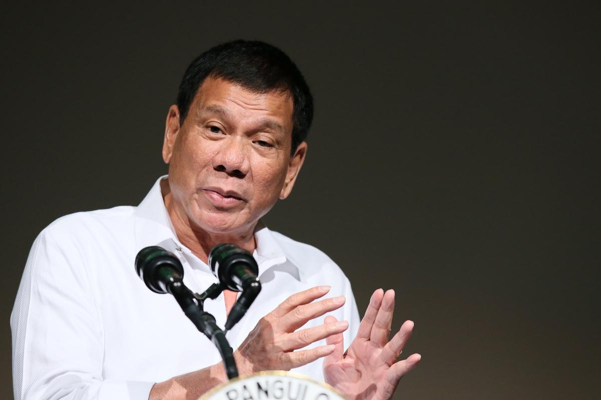 菲律賓總統杜特蒂也是挾著民粹當選,上任後繼續用民粹的方式掃蕩毒品。(東方IC)