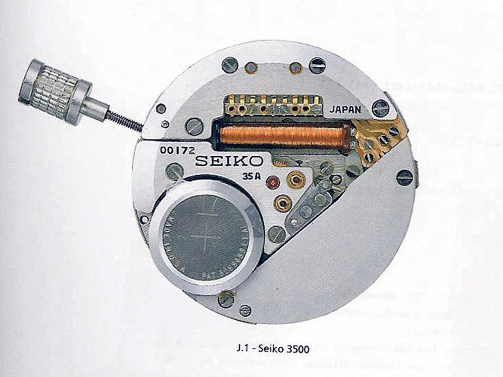 裝配革命性的Seiko 3500石英機芯,世界第一只石英錶「Astron」在1969年12月25誕生,並大大的改變了近代的鐘錶歷史。