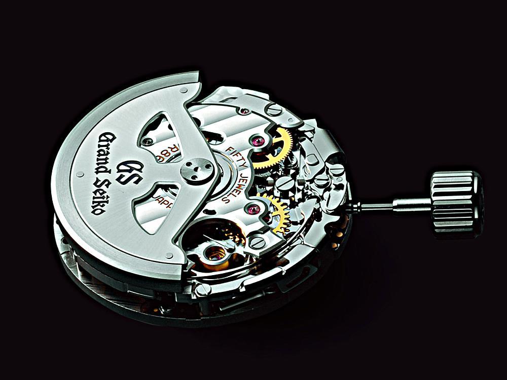 SEIKO「Spring Drive」9R86計時碼錶機芯