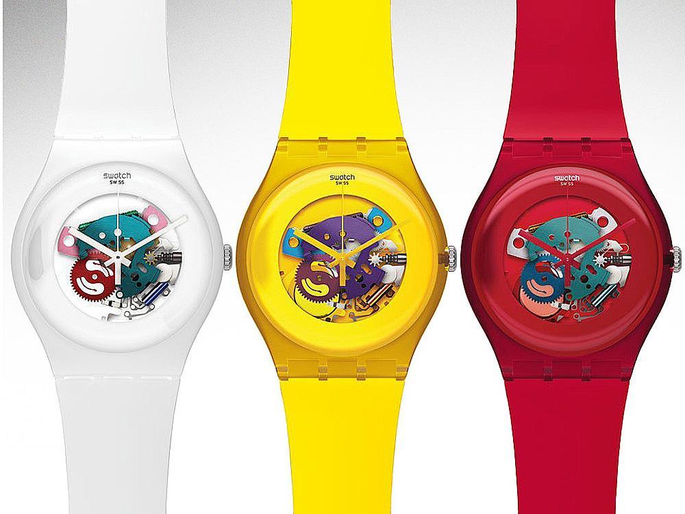 可別小看這些花花綠綠、人人都買得起的SWATCH腕錶,他們的營業額可是集團內的No.1!