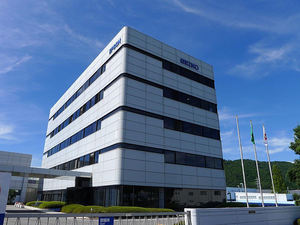 位於長野縣塩尻市的SEIKO EPSON。