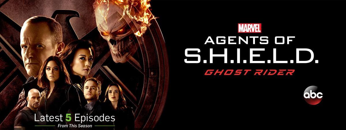 最新一季《神盾局特工》與《惡靈戰警》的宣傳海報。
