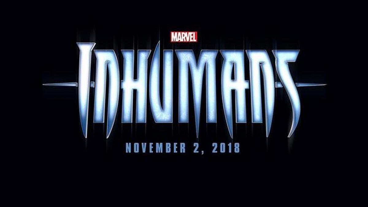 已取消的漫威《異人族》電影Logo。