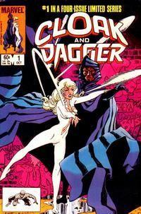 即將在2018年推出的《Cloak & Dagger》漫畫封面。