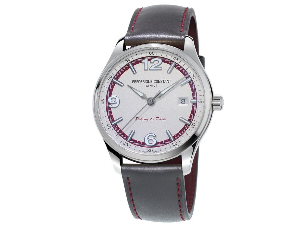 其實如果拿到實錶仔細看的話,會發現它的做工頗為細緻喔!畢竟FREDERIQUE CONSTANT以前是作面盤起家的。