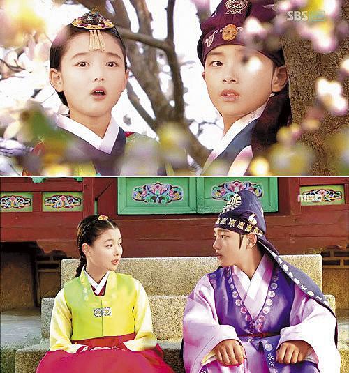 童星出身演藝資歷已13年的金裕貞,雖然年方17卻擁有沈穩內斂的好演技。(緯來電視台提供)