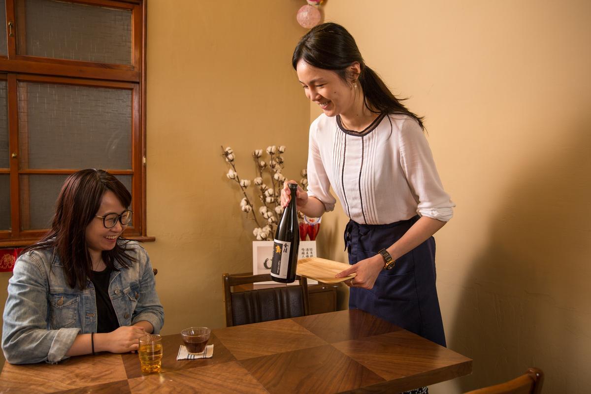 在素晴屋有6、70種梅酒可供選購,每日亦有單杯酒單。