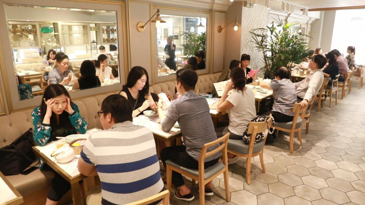 Yum Cha的室內空間完全不像印象中的茶樓,特別受年輕人喜愛。