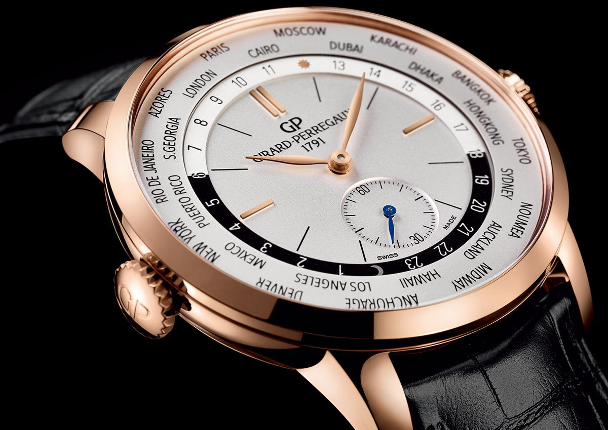 芝柏今年重新加入SIHH戰場,Pre-SIHH推出1966 WW.TC世界時間腕錶,定價NT$726,400。
