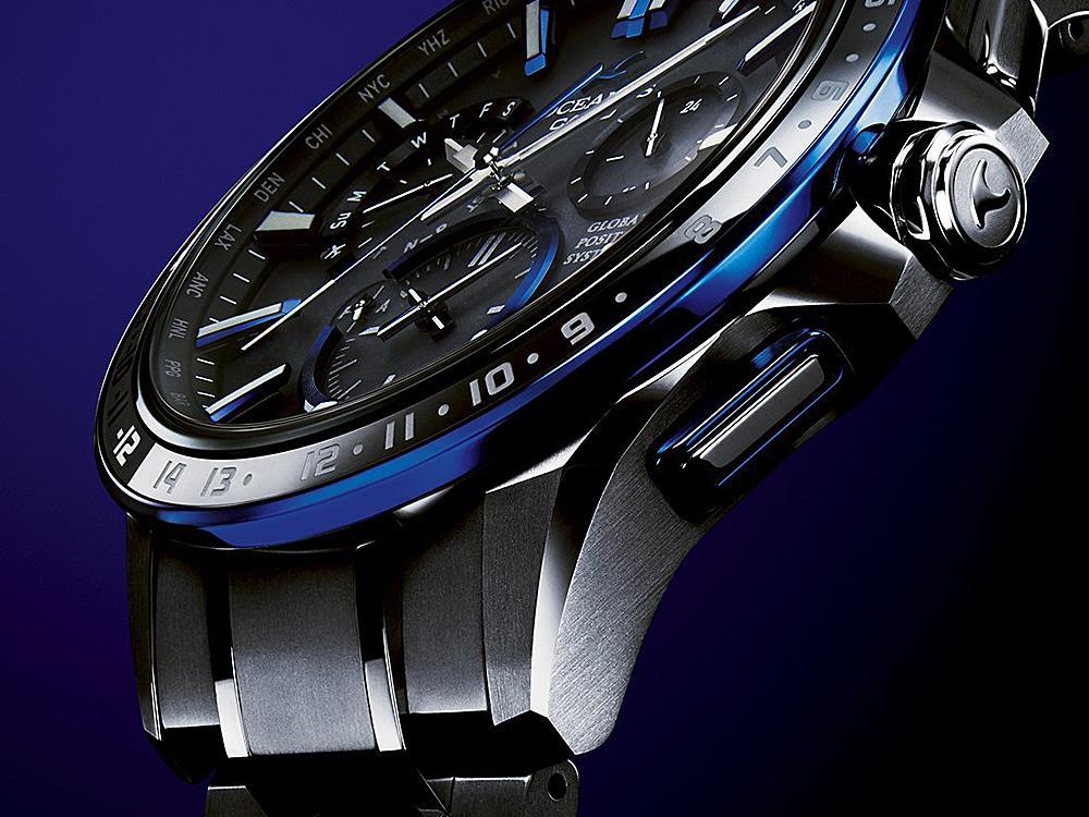 無論是面盤裡的刻度、指針,錶殼的研磨修飾、鍊帶細節的拋光處理,可以很明顯清楚感覺到高級感與工序的繁瑣。