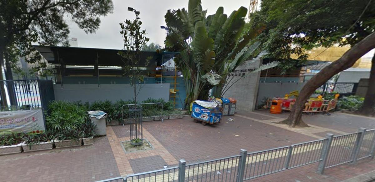 傳說中的維園靈異公廁。(圖片來源:google map)