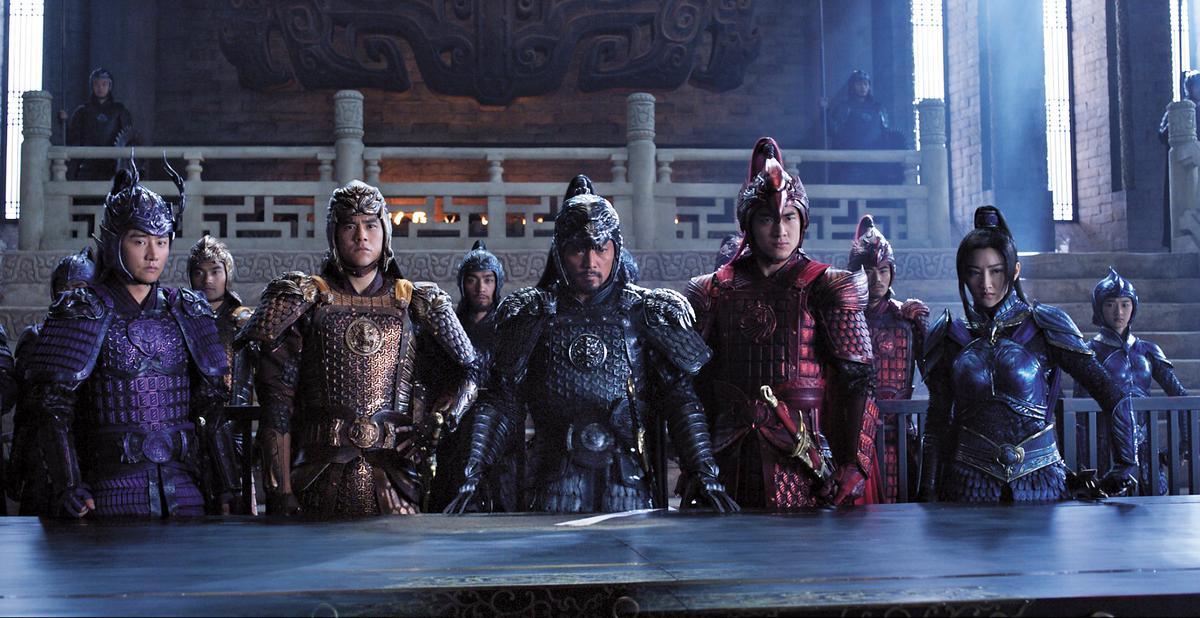 2016年劉德華、彭于晏、鹿晗、林更新及景甜參與《長城》演出。