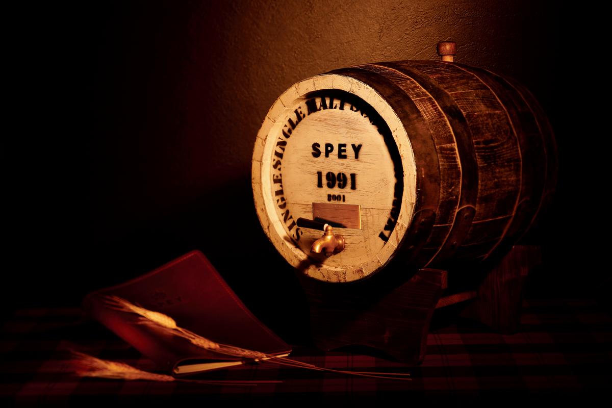 SPEY二十五公升歐提夫橡木桶專案,市場上可以說沒有人推出。