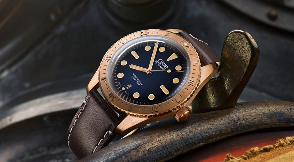 青銅是2016熱門關鍵字,而ORIS這款青銅錶更是熱門中的熱門,定價89,000元。