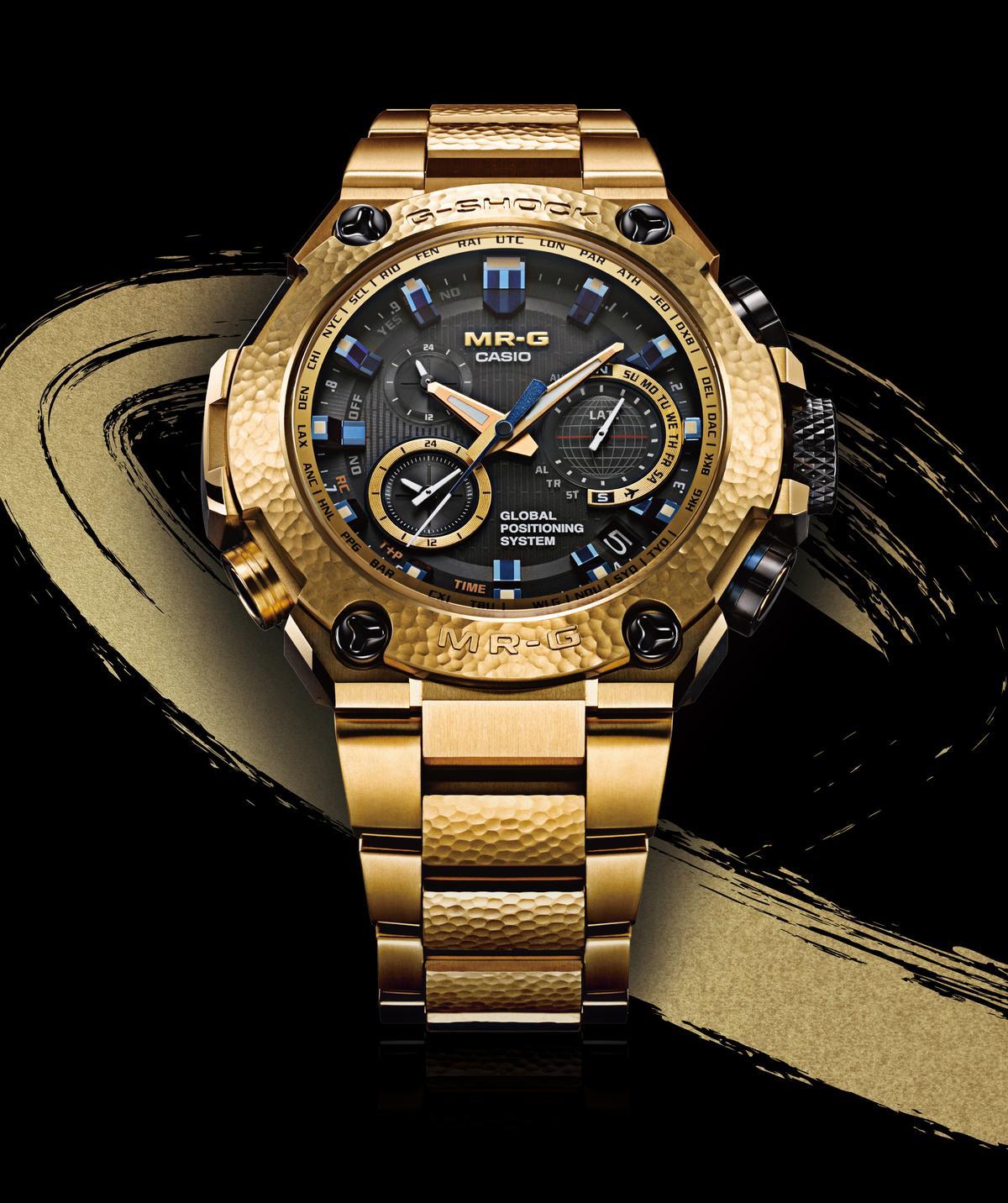MRG-G1000HG-9A「鎚起」II GPS+電波校時腕錶