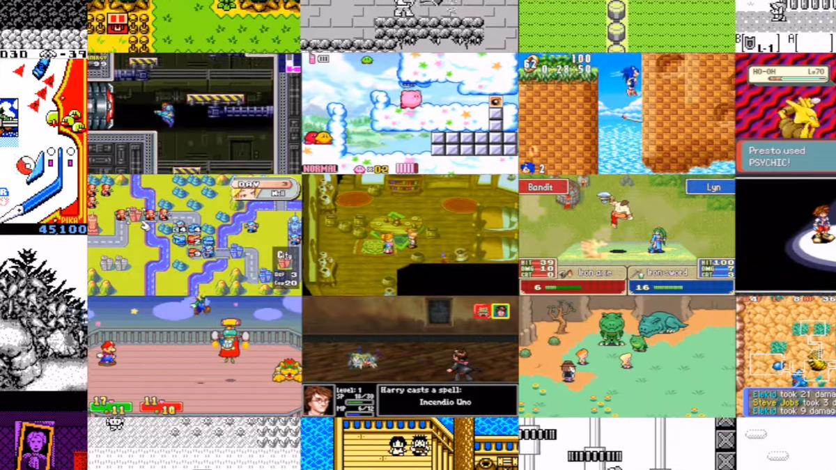 畫面簡陋卻陪伴無數玩家成長的經典遊戲,真的是時代的眼淚呀!(圖片來源:Delta 宣傳影片截圖)