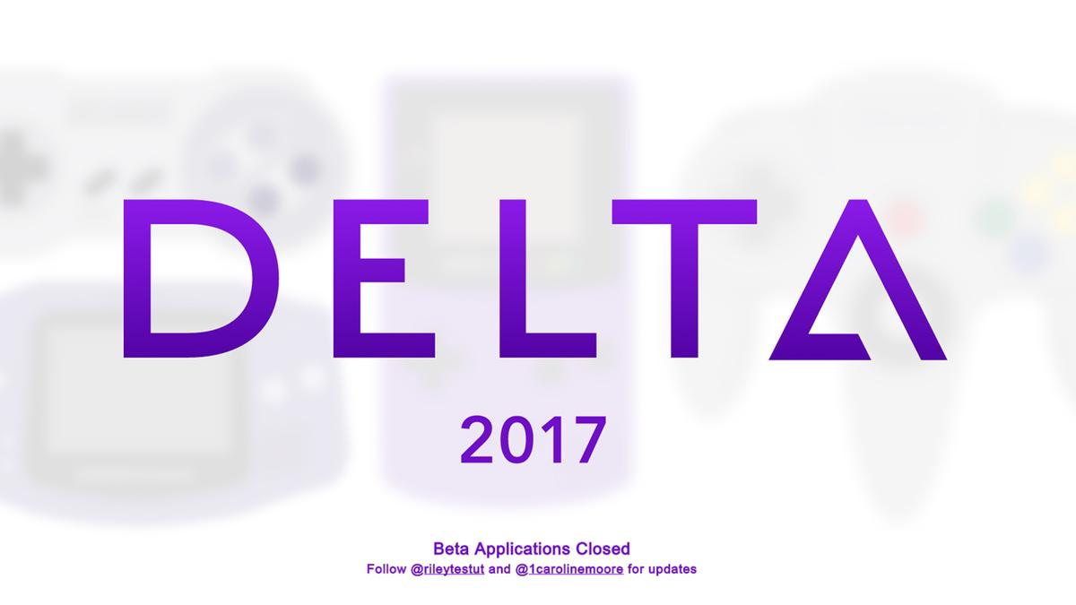多合一模擬器「Delta」宣傳官網。(圖片來源:http://deltaemulator.com/)