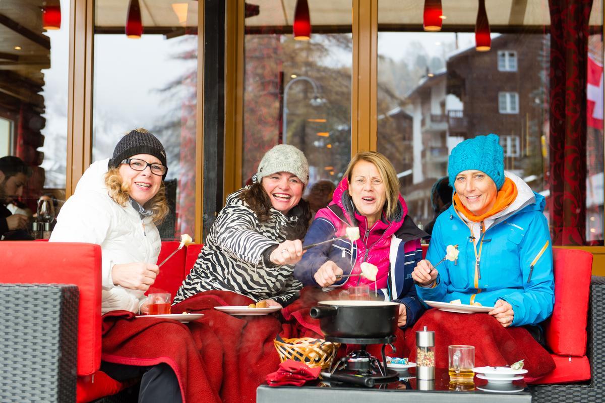 冬季到策馬特,來一點起士鍋,是個溫暖的選擇。