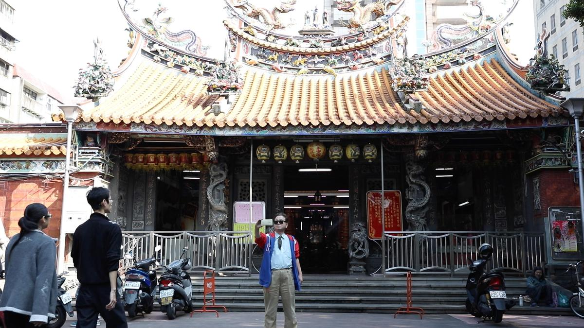 慈聖宮是台北少數有百年歷史的廟宇。