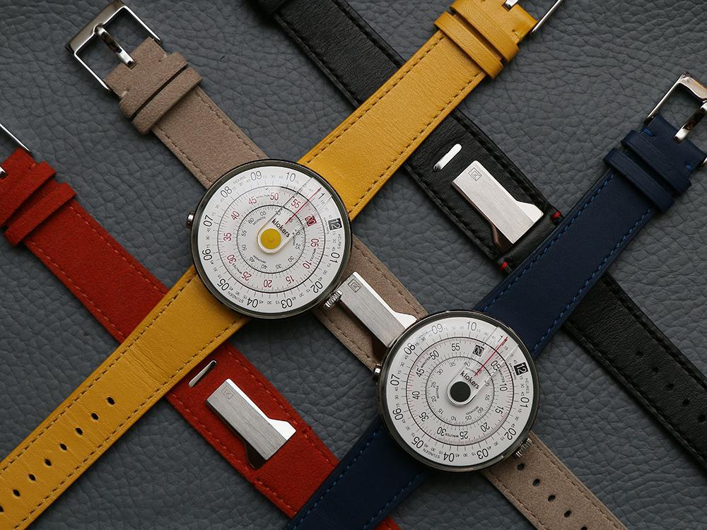 喜歡設計的你看過來!新興品牌klokers的klok-1有著獨特的面盤設計與讀時方式,還可以自由更換錶帶,很文青的一款錶。建議售價NT$16,500。