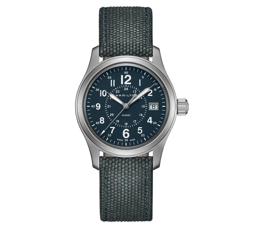 誰說1萬多塊沒有漢米爾頓?Khaki Field大三針腕錶的石英機芯版本,軍風猶在而價格更親民!建議售價NT$12,400。