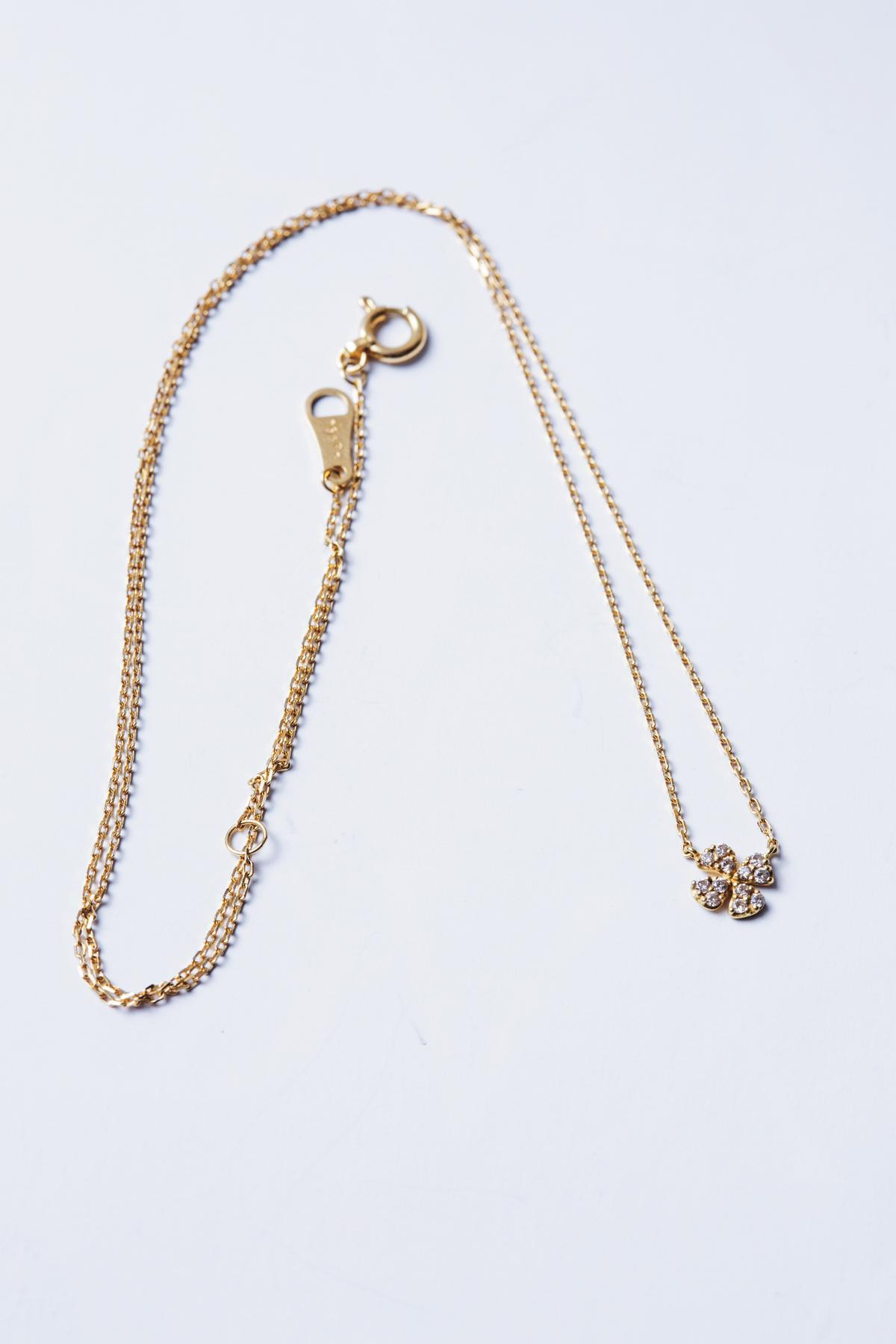 日本買的agete項鍊。約NT$10,000