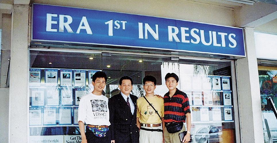 業務性格明顯的陳建慶、Bruce、Jacky,攜手創業,30多歲就當老闆,在業界小有名氣。(大師房屋提供)