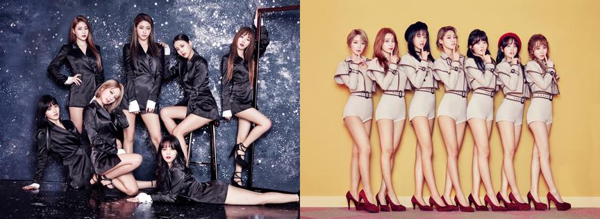 AOA新專輯《ANGEL'S KNOCK》推出雙主打,不同風格一樣迷人。(翻攝自AOA臉書)