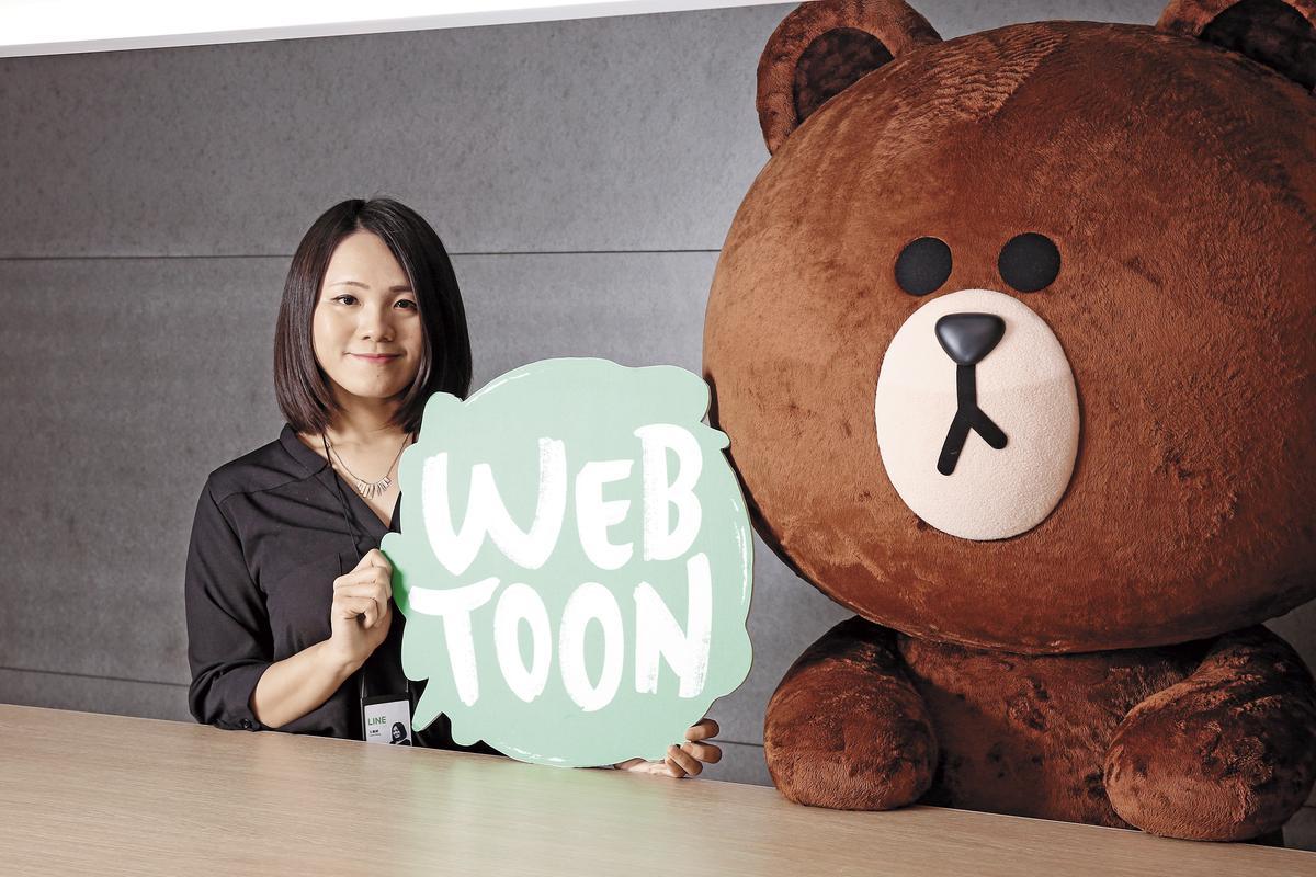 行銷經理王嘉綺強調,台灣LINE WEBTOON的經營目標是深耕在地文創,讓更多台灣素人漫畫家完成夢想。