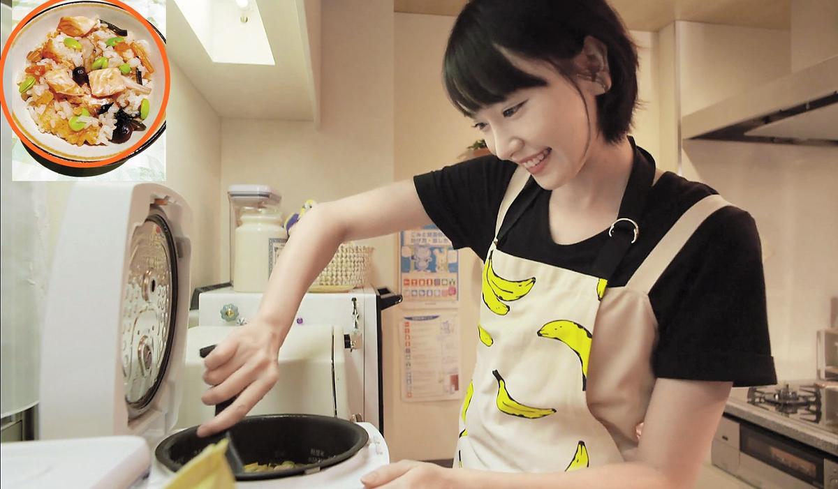 《月薪嬌妻》將眾多置入巧妙融入戲裡,其中還包括電鍋。而戲中料理的食譜在Cookpad網站上都看得到。(翻攝自網路)