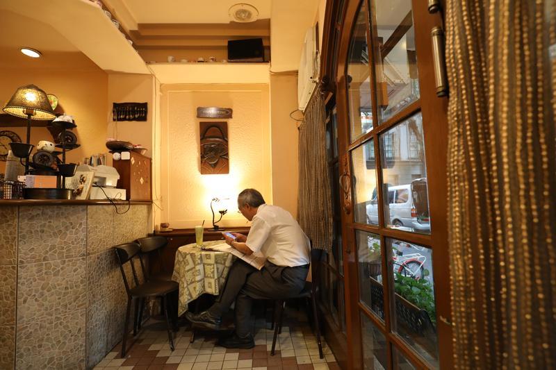凝結回憶與青春的老咖啡館