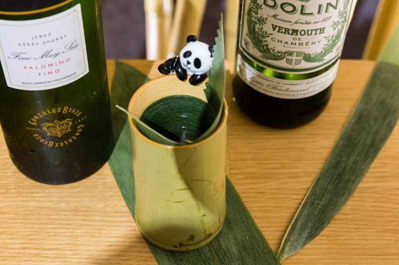 開胃酒搭熊貓食玩 逼出塵封少女心