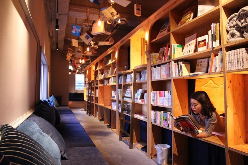 入住京都書店旅館 與3 200本書一起入眠