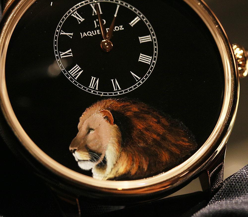 【錶壇焦點】融入自然主題,雅克德羅打造腕上藝術品!
