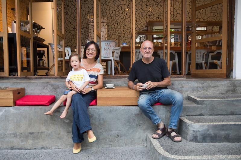 台灣女生移民峇里島 打造自己的咖啡王國