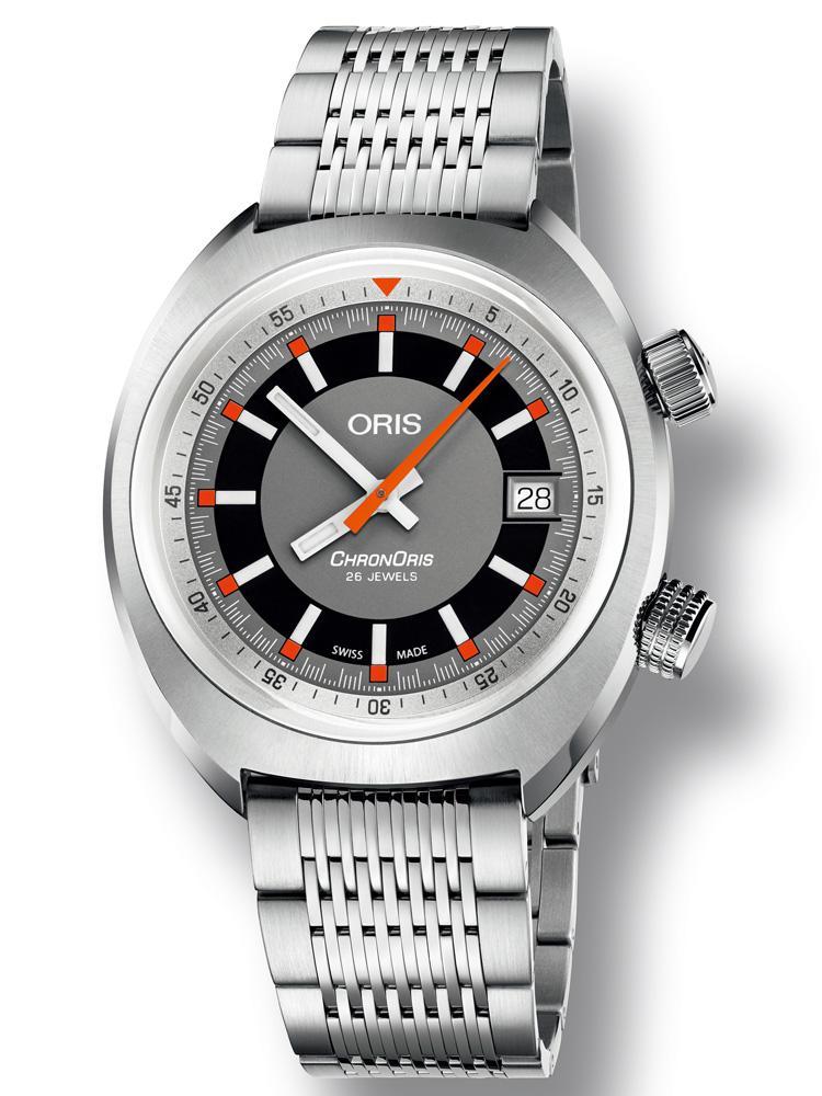 【錶評】ORIS Chronoris Date