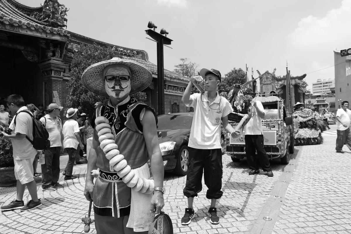 【攝影筆記】2017台北霞海城隍 祭典黑白輯