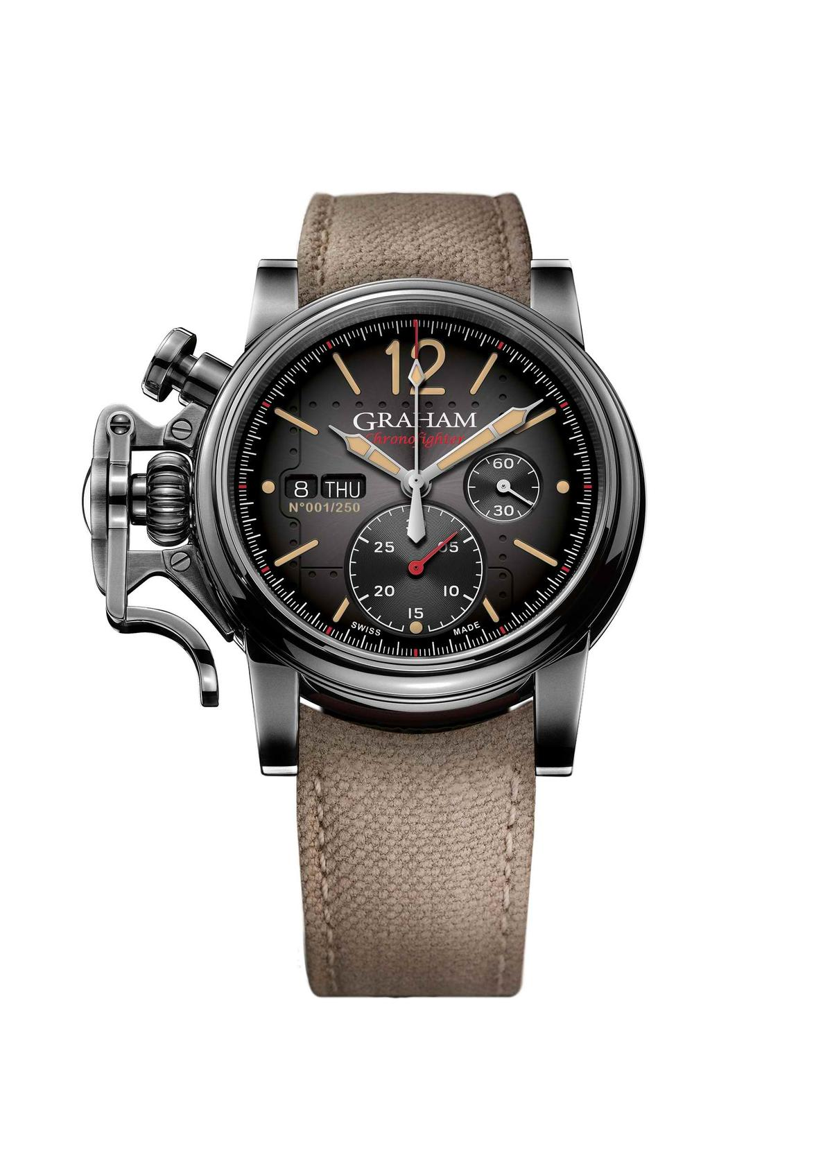 【錶評】GRAHAM Chronofighter Vintage Aircraft Ltd