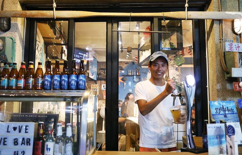 老屋改造小酒館 冰郎願與島嶼共生
