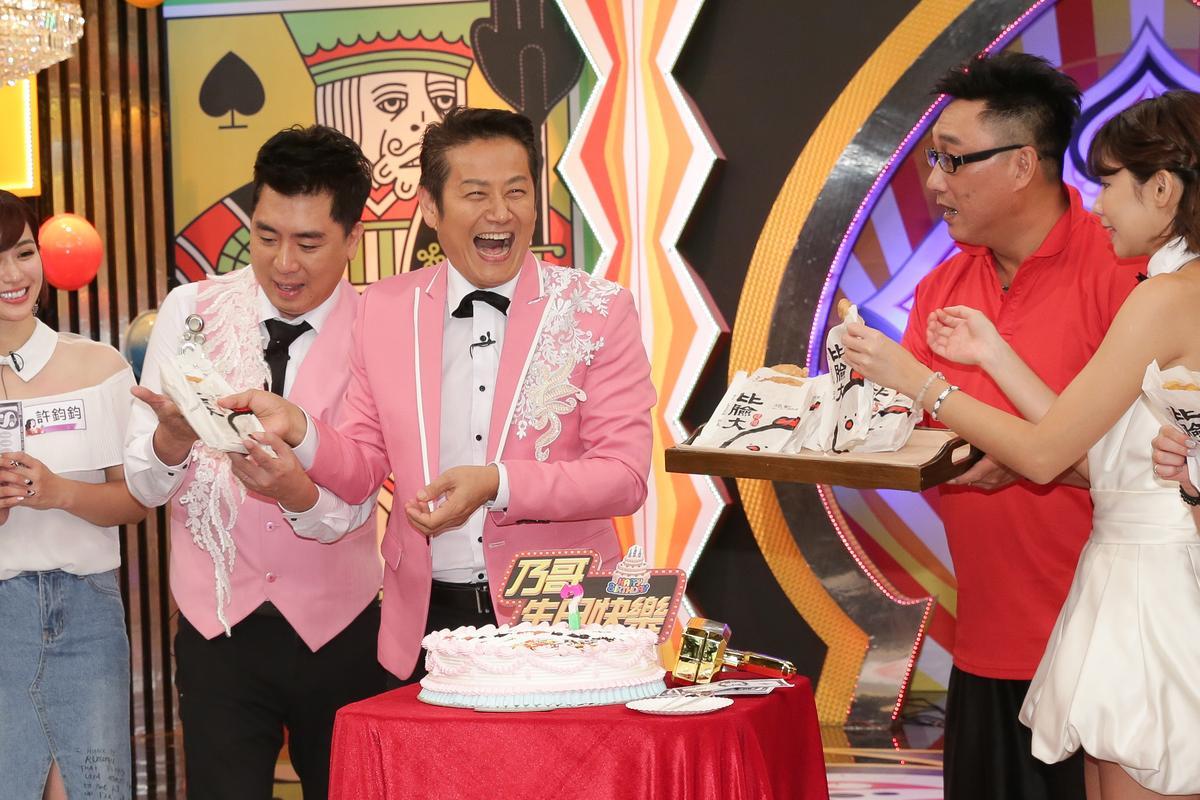 徐乃麟錄中天《天天樂財神》慶祝58歲生日,預計再7年退休。