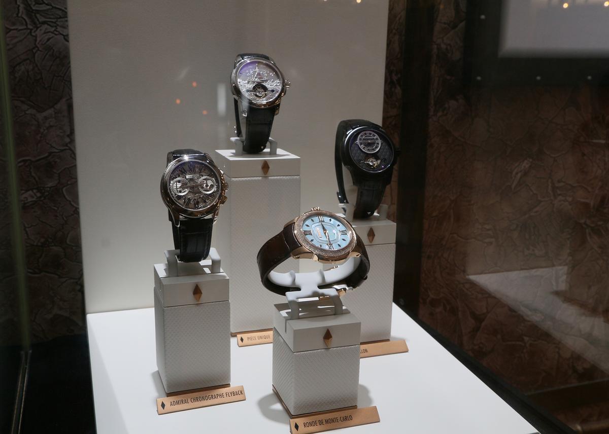 今年新增加的Ateliers deMonaco,這個品牌目前在台灣並無代理商,是由摩納哥總部直接來參展。