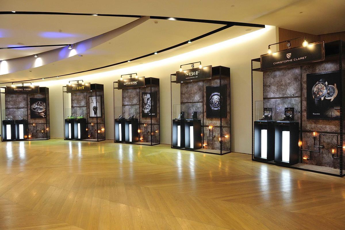 第五屆「匠心.獨具」時間藝術展共匯聚9個獨立製錶師品牌,展出逾50件作品、總價超過3億元。