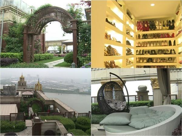 雖然在台北買房,但林瑞陽跟張庭早在2008年婚後就定居上海,而他們在上海的房子也非常豪華。(摘自微博)