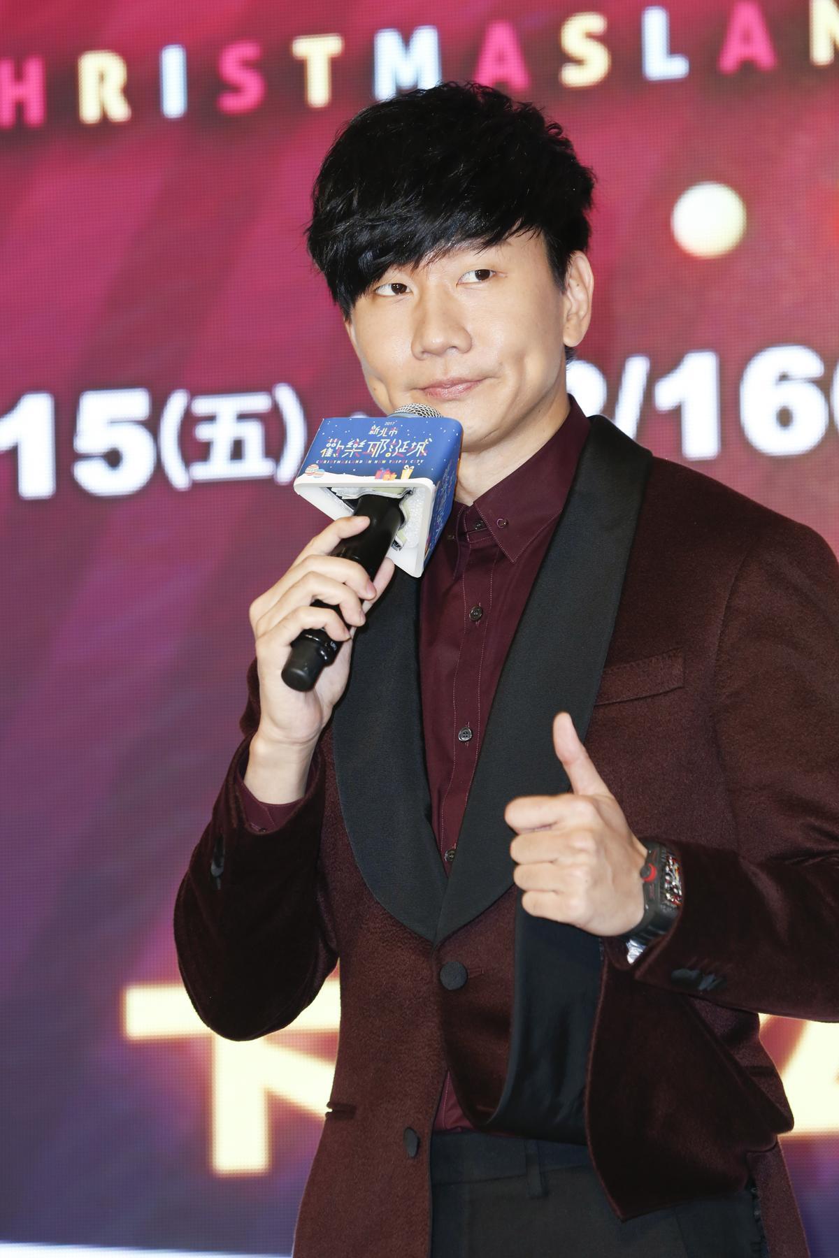 林俊傑今年耶誕節留在台灣表演,也是今年在台最後一場。