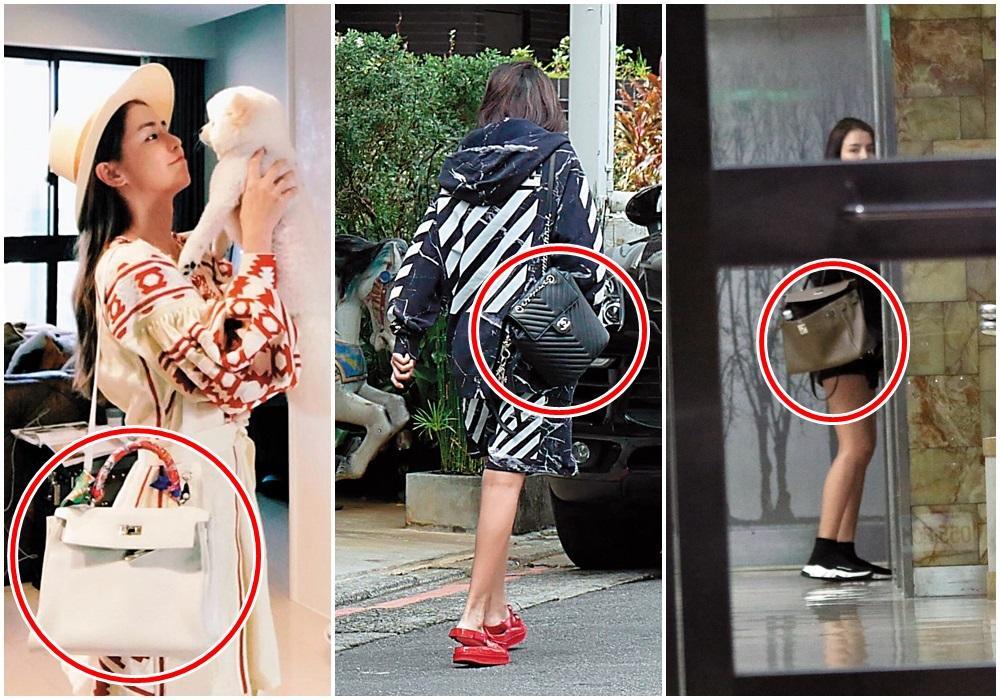 李毓芬包類的價格上看300多萬元,與她的演藝工作不太成正比。(翻攝自李毓芬IG)