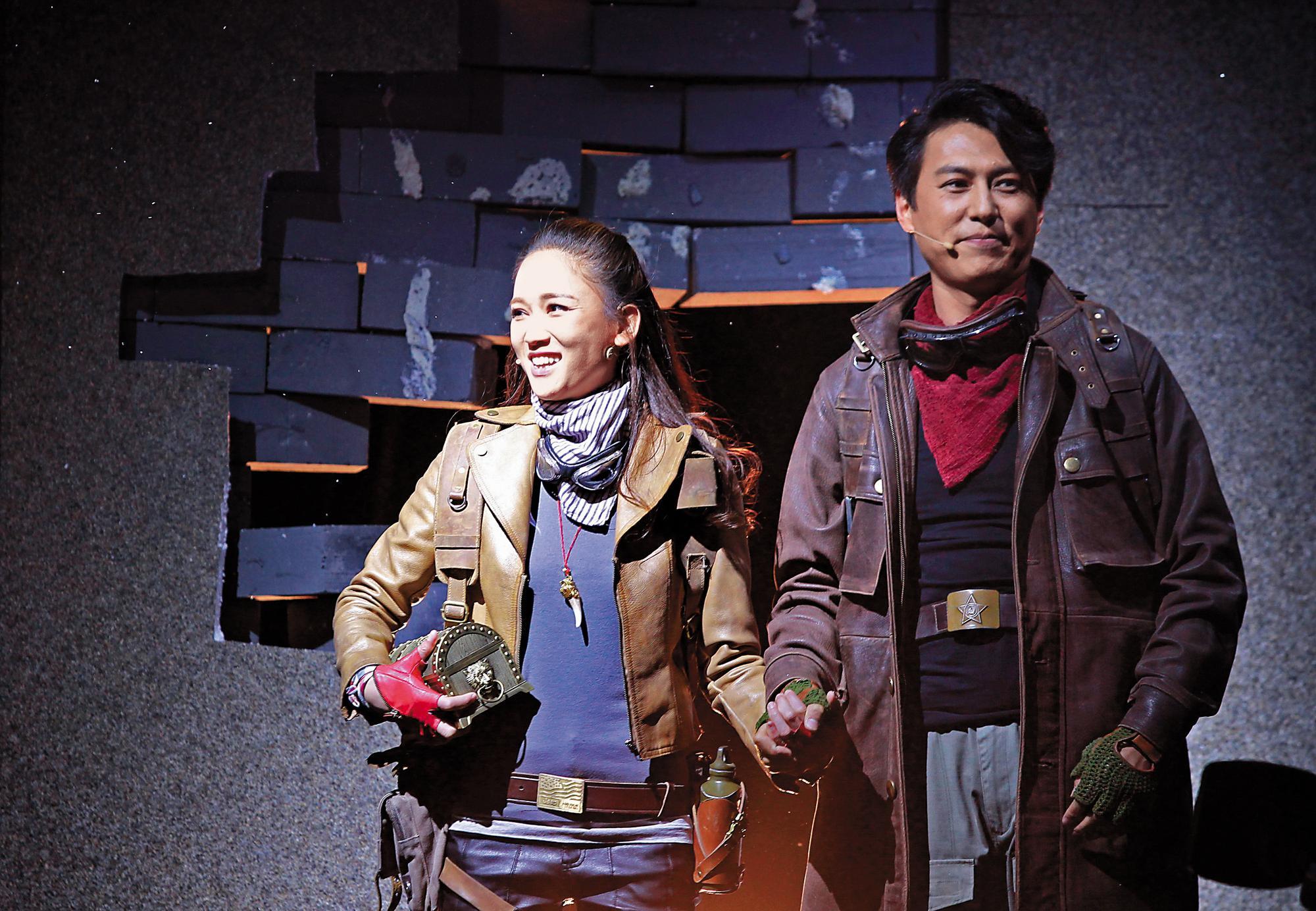 陳喬恩合作的都是中國一線男星,《鬼吹燈》系列的靳東也是經典之一。(東方IC)