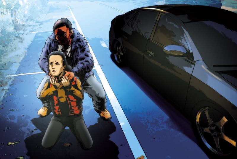 郭芳如託夢暗示菜刀男不願與她分手,竟在路邊將她拖下車勒斃後棄屍。